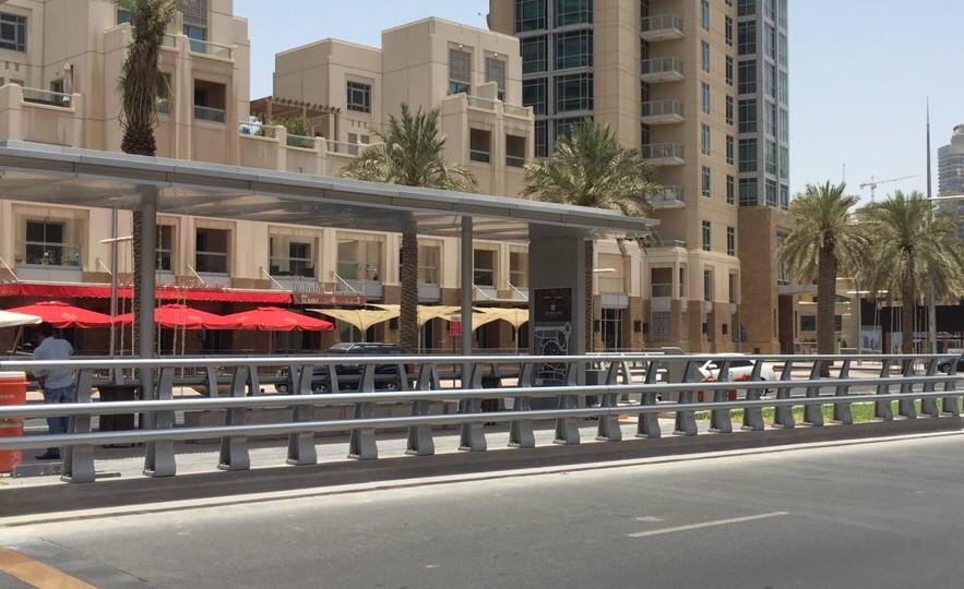 Obex Curve protege o carrinho de Dubai